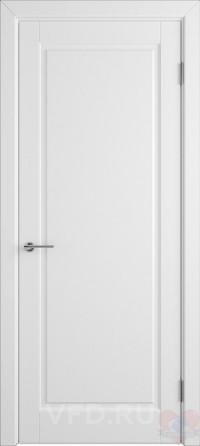 Дверь эмалированная Гланта ДГ белая