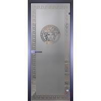 Дверь стеклянная межкомнатная Mirra - Венера и Меандр