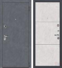 Дверь металлическая Монтана Бетон Снежный