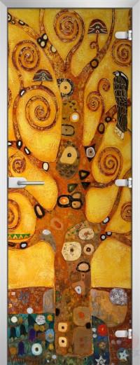 Дверь стеклянная Painting-16 матовое бесцветное