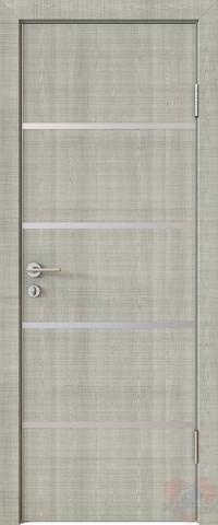 Дверь межкомнатная пвх ДГ-505 Серый дуб