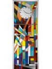 Стеклянная дверь Stained Glass-05 матовое бесцветное