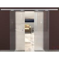 Двойная раздвижная стеклянная дверь М2 - комплект