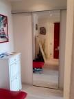 Зеркальная дверь купе Триплекс