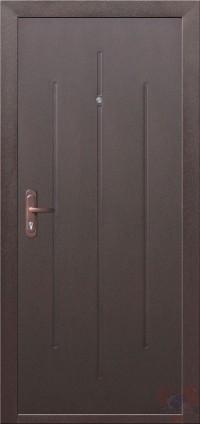 Дверь металлическая Стройгост 5-1 внутр