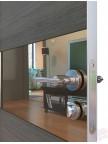 Дверь межкомнатная пвх ДО-501 Ольха темная - Зеркало бронза