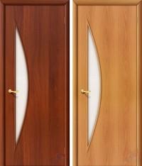 Дверь ламинированная 4С5 - остекленная