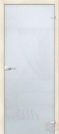 Дверь стеклянная Браво Лайт - Сатинато Белое