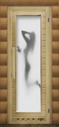 Дверь для сауны люкс - Искушение