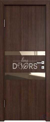 Дверь межкомнатная пвх ДО-512 Мокко