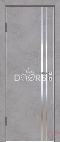 Дверь межкомнатная пвх ДГ-506 Бетон светлый