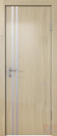 Дверь межкомнатная пвх ДГ-506 Анегри светлый глянец