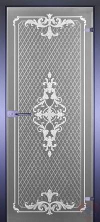 Дверь стеклянная межкомнатная Классика-12