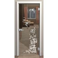 Дверь стеклянная межкомнатная Колибри - Стекло прозрачное