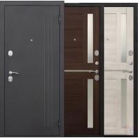 Дверь металлическая 7,5 Нью-Йорк царга Каштан