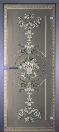 Дверь стеклянная межкомнатная Классика-2