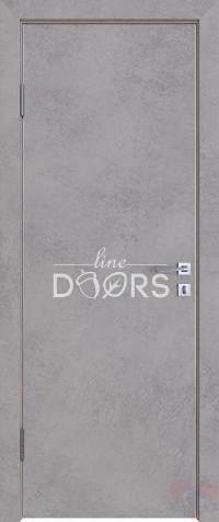 Дверь межкомнатная пвх ДГ-500 Бетон светлый