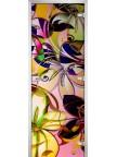 Стеклянная дверь Abstraction-05 матовое бесцветное
