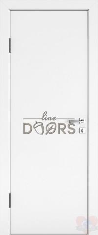 Дверь межкомнатная ДГ-500 Белый бархат