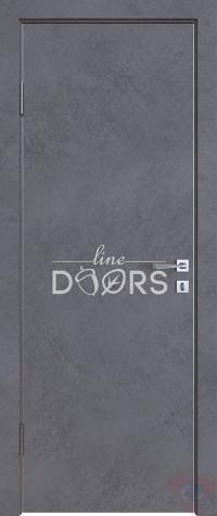 Дверь межкомнатная пвх ДГ-500 Бетон темный