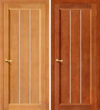 Дверь межкомнатная из массива сосны В-19