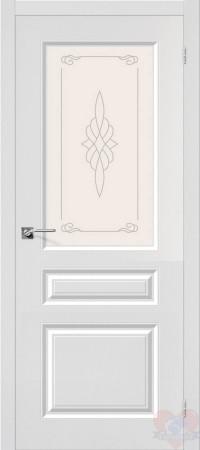 Дверь пвх Скинни-15 белая