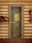 Дверной блок для сауны Русская Баня - 03
