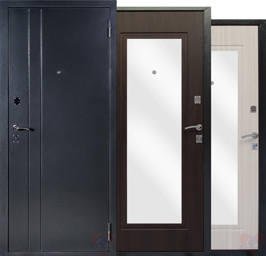 металлические двери с зеркалом солнечногорск