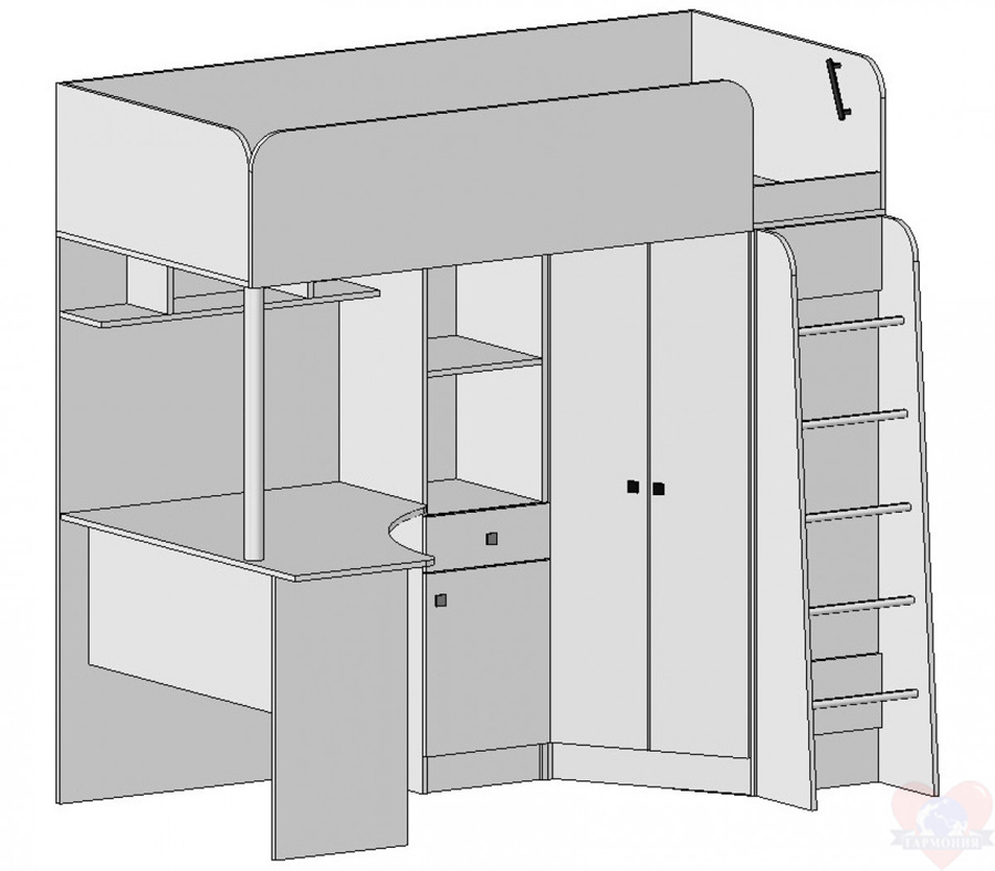 Мебель для детской схема сборки бемби