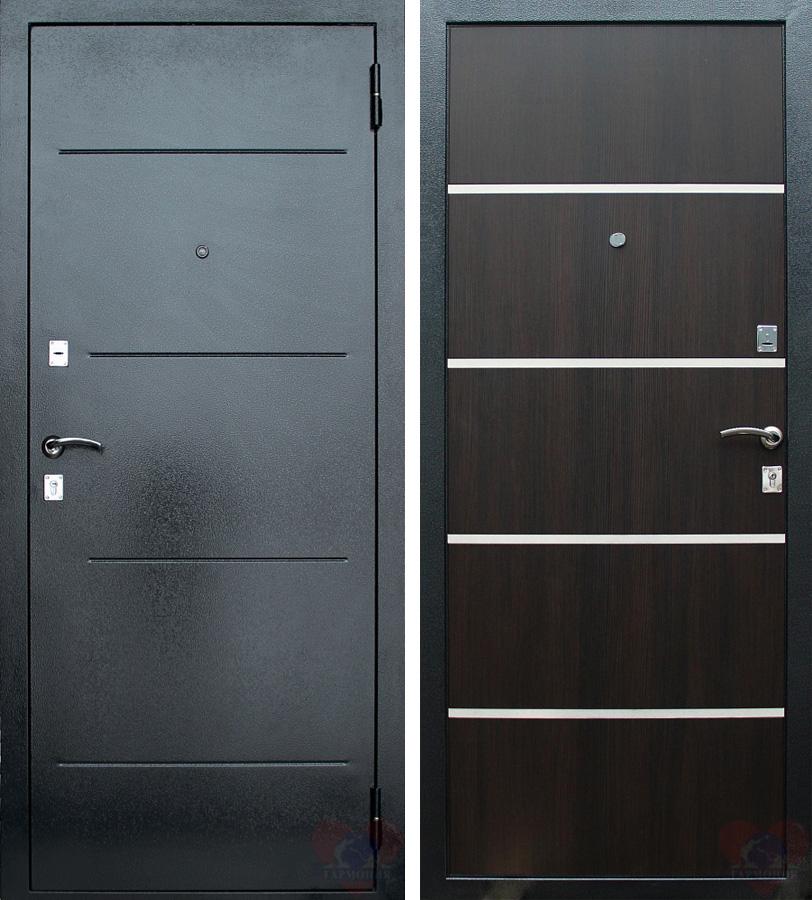 поставить внутреннюю металлическую дверь от производителя