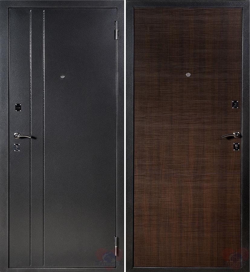 поставил стальную дверь металл классик