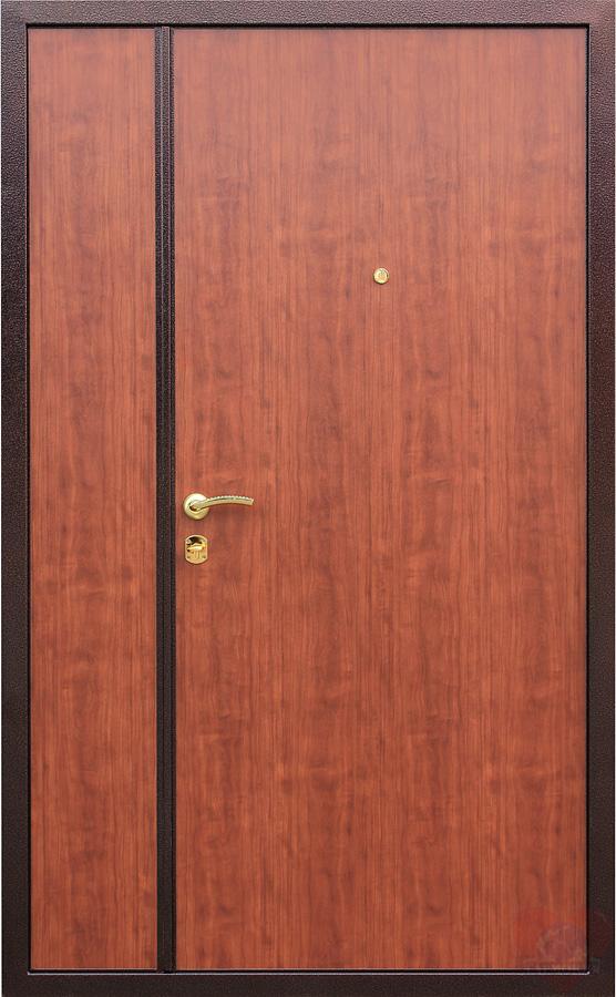 двустворчатые стальные двери от производителя
