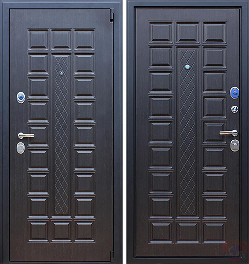 дверь металлическая венг