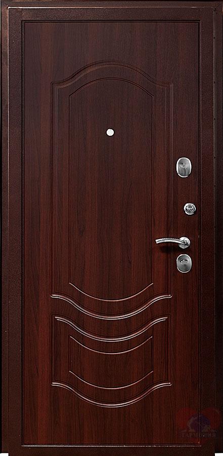 цвет темный орех входная дверь