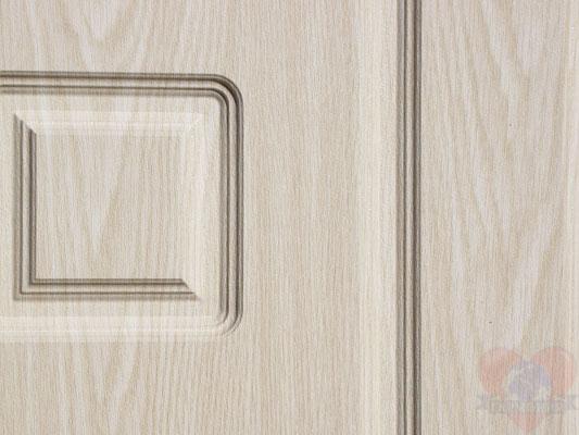 металлические двери мдф беленый дуб