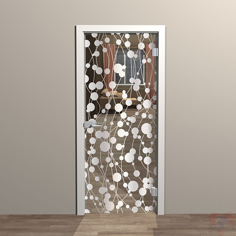 Стекло на двери своими руками