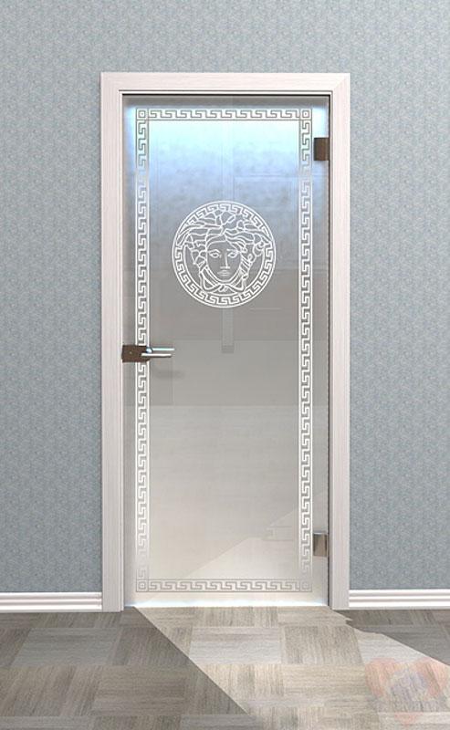 Сколько стоит матовое стекло на дверь