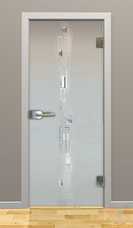Двери с матовым стеклом фото
