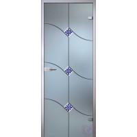Дверь стеклянная межкомнатная Патриция