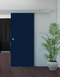 Одинарная раздвижная стеклянная дверь Триплекс