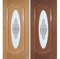 Дверь межкомнатная Аура ДО шпон