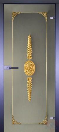 Дверь стеклянная межкомнатная Классика-14