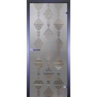 Дверь стеклянная межкомнатная Mirra - Узор