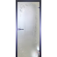 Дверь стеклянная межкомнатная Классика-1