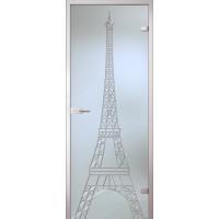 Дверь стеклянная межкомнатная Башня
