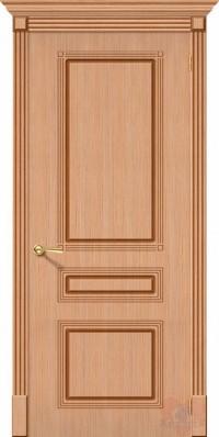 Дверь межкомнатная шпонированная Стиль-П ДГ Дуб