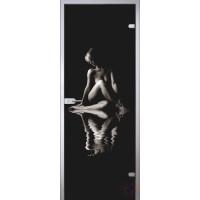 Межкомнатная стеклянная дверь Woman