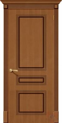 Дверь межкомнатная шпонированная Стиль-П ДГ орех