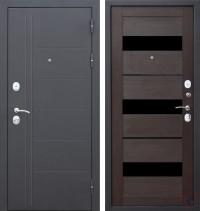 Дверь металлическая Троя Муар Темный кипарис