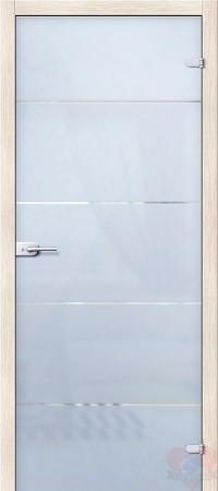 Дверь стеклянная межкомнатная Диана - Сатинато Белое
